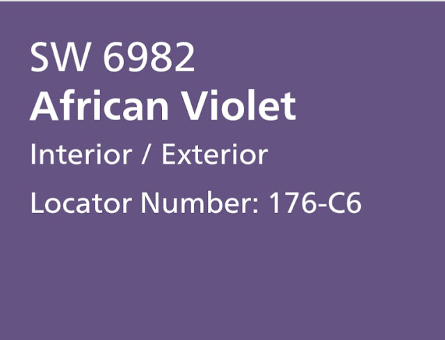 sherwin williams African Violet