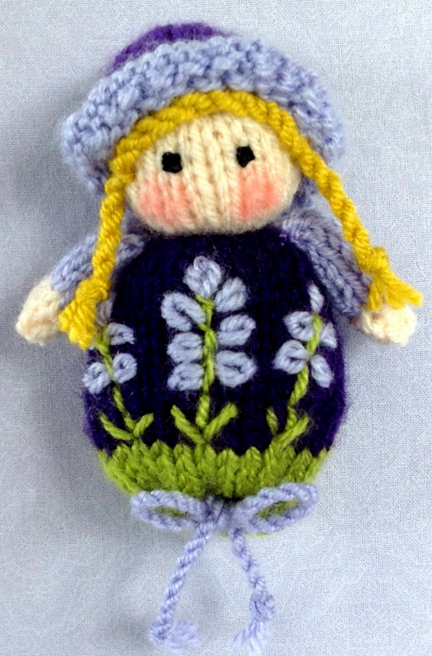 Knitting Pattern Lavender Bag : Flutterby Patch: Lavender Sachet Dolls