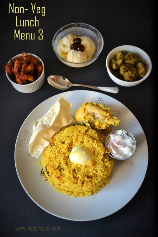 Special non veg lunch menu special weekend lunch menu lunch menu items in the menuplease click the links for recipes forumfinder Image collections