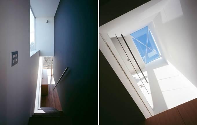 tangga ke tingkat atas