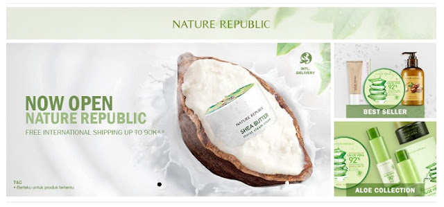 Nature Republic Korea - Blog Mas Hendra