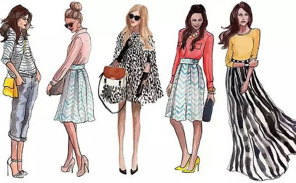 13 Key Elements Of Fashion Illustration Fashion2apparel