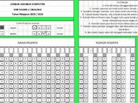 Download Lembar Jawaban Komputer LJK Format Excel Gratis