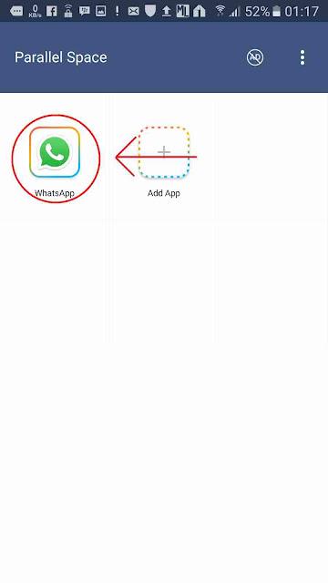 cara install 2 Whatsapp dalam 1 hape tanpa root stepp 2