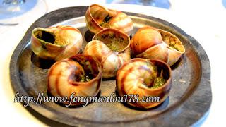 法国蜗牛餐