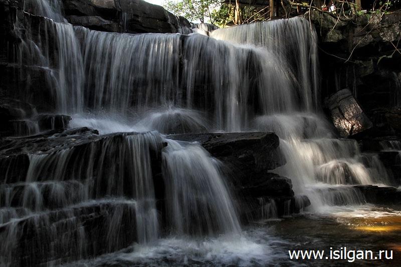 Водопад Кбал Чхай. Камбоджа