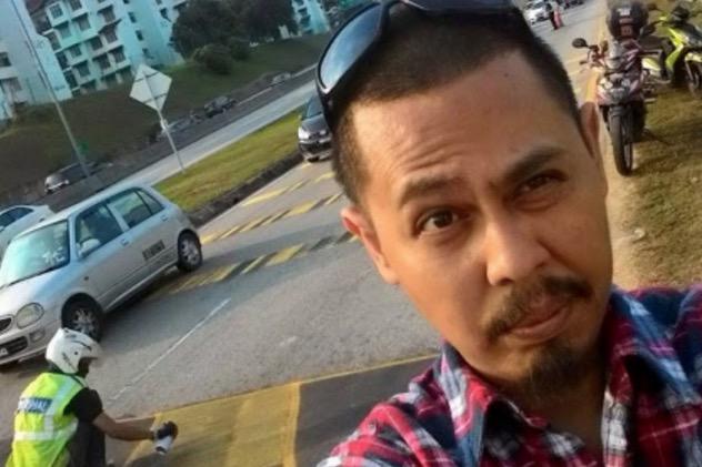 Pelakon Lando Zawawi Jadi Penurap Jalan, Tak Kisah Dikutuk