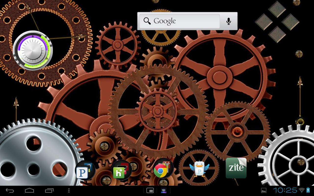Rusted Robo Studios: Gears Live Wallpaper