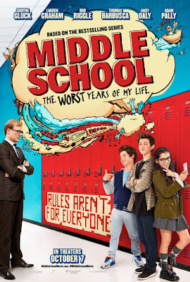 Middle School: The Worst Years of My Life Poster Film
