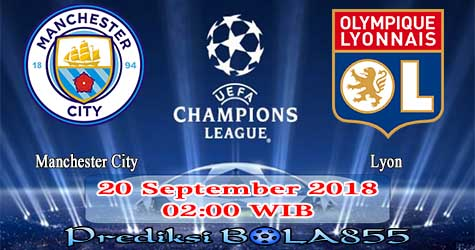 Prediksi Bola855 Manchester City vs Lyon 20 September 2018