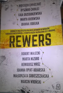 okładka książki Rewers zbiór opowiadań