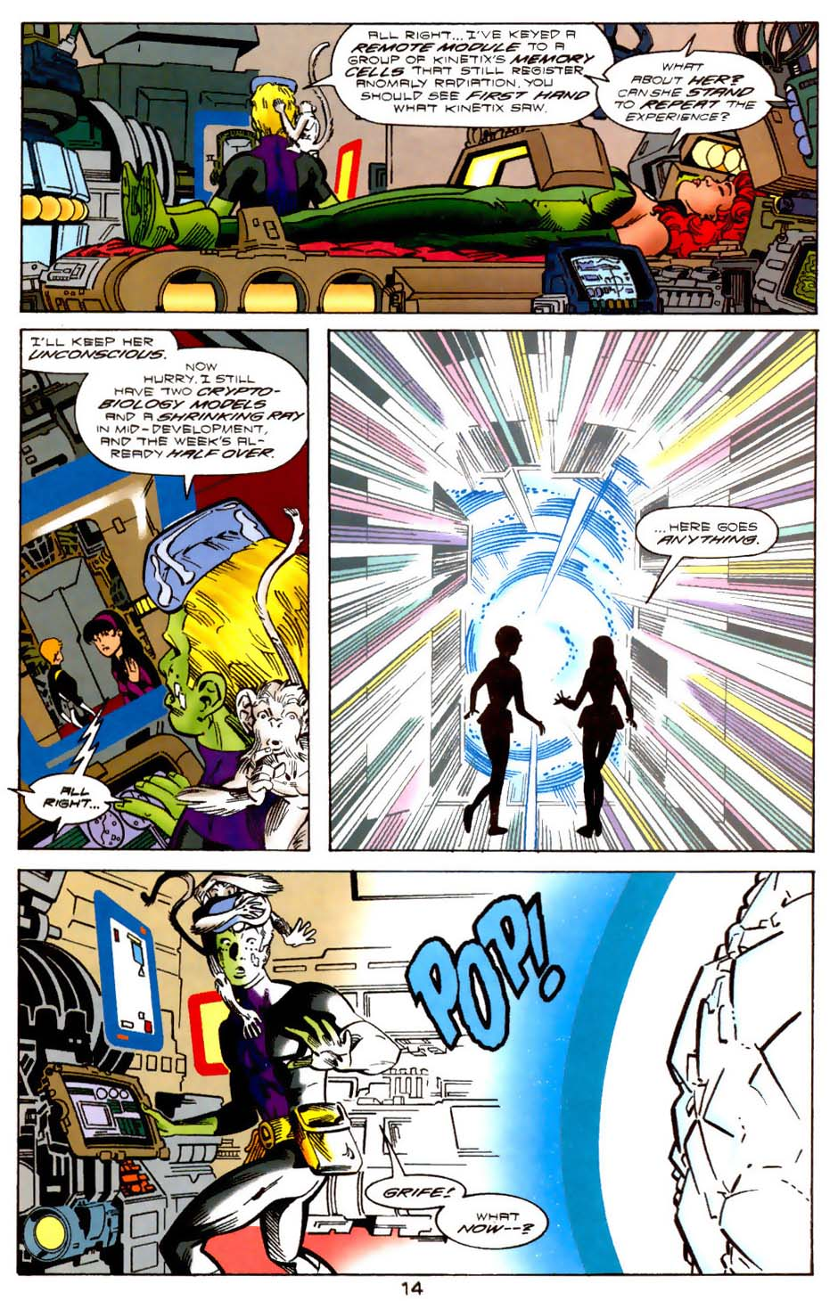 Legion of Super-Heroes (1989) 113 Page 13