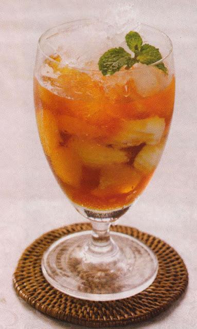 Es buah Jeruk Karamel