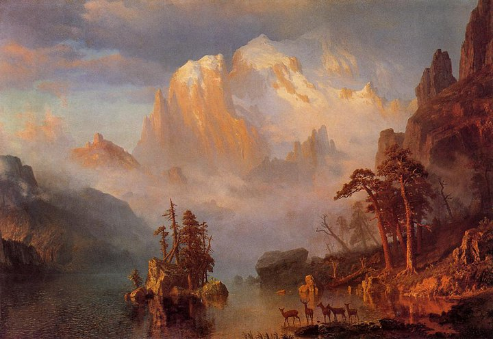 Albert Bierstadt 1830-1902 | German-born American Landscape painter