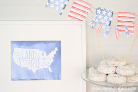 This Fourth of July party menu plan has everything you need to make your celebration fantastic! From appetizers, side dishes, entrees, and desserts, to printables and party decor, we've got you covered!