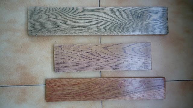 Personalización madera teñidos colores