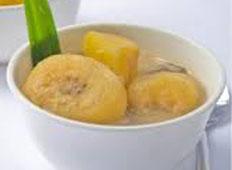 Resep praktis (mudah) es kolak havermut pisang spesial (istimewa) enak, segar, sedap, legit, nikmat leza