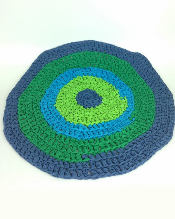 A Whole New Premier: How To Crochet A T-Shirt Rug