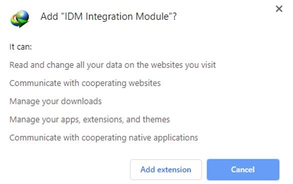 Cara Memasang Ekstensi IDM di Google Chrome dan Mozilla Firefox