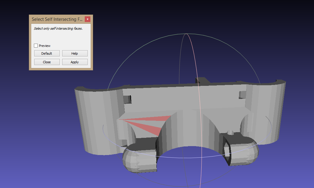 Tech: How to repair STL File with Meshlab and Netfabb