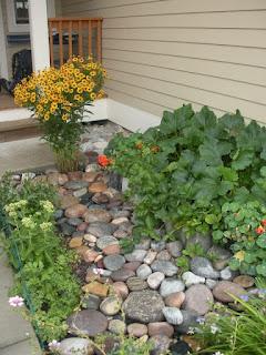 Bozeman, Montana urban garden