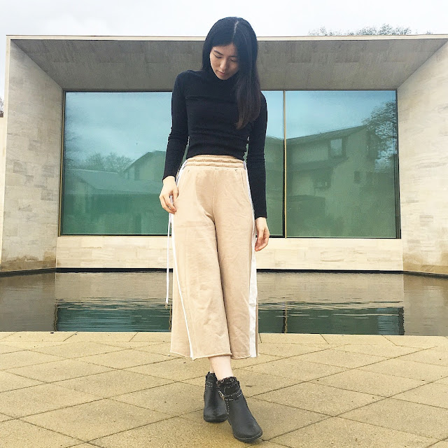 tagless london, tagless london blog review, cotton culottes uk, oversized sweater uk buy, tagless london review, tagless london haul, tagless london clothing