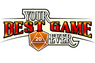 The Your Best Game Ever logo in red and orange tones