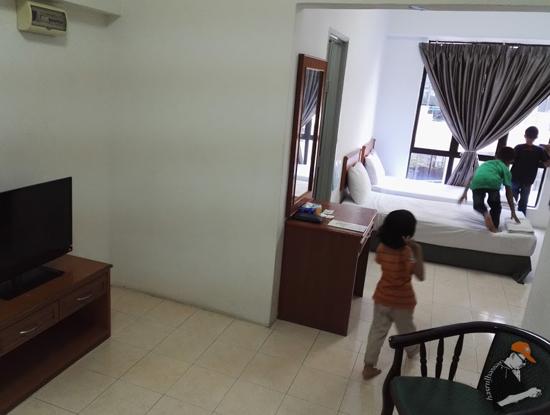 Bilik Paling Murah Marina Cove Resort, Lumut