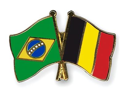 Jornalheiros: História - Brasil x Bélgica