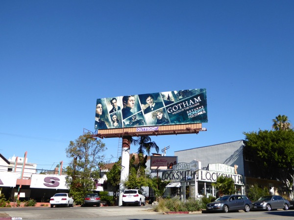 Gotham Wrath of the Villains billboard