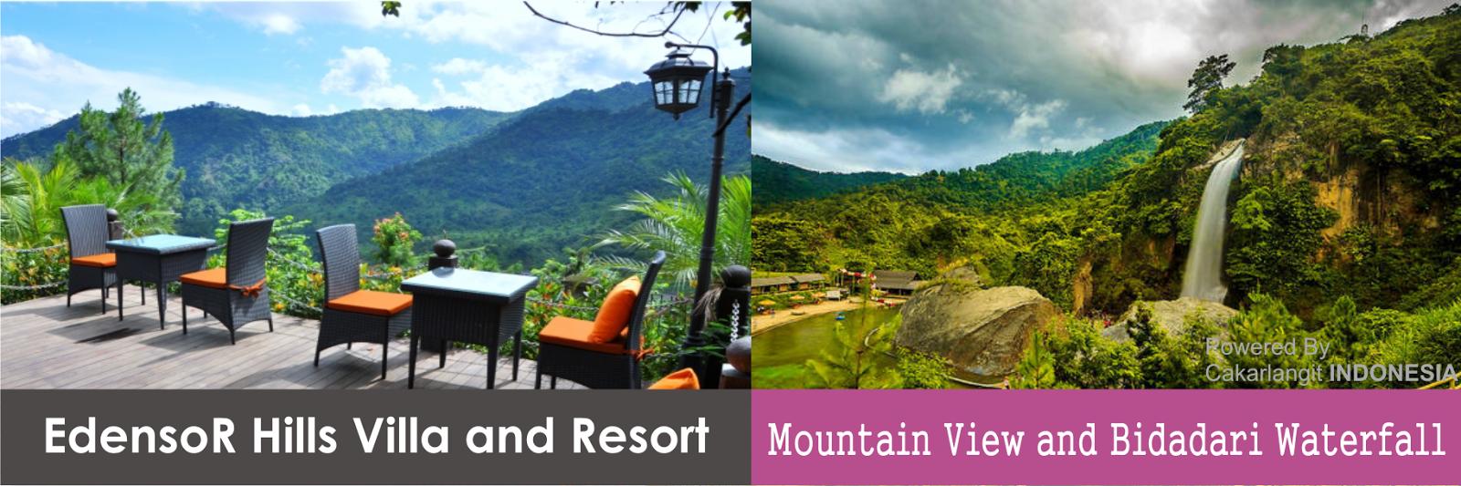 Edensor Hills VILLA  RESORT SENTUL  Cakar Langit Indonesia