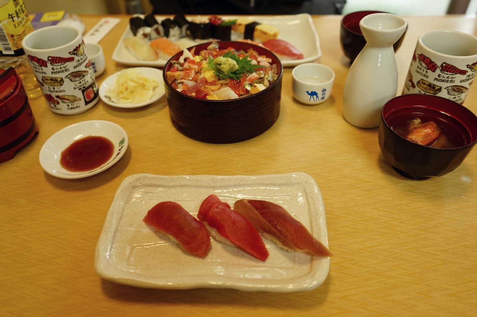 Le Chameau Bleu - Petit déjeuner de poisson  de Tsukiji - Tokyo