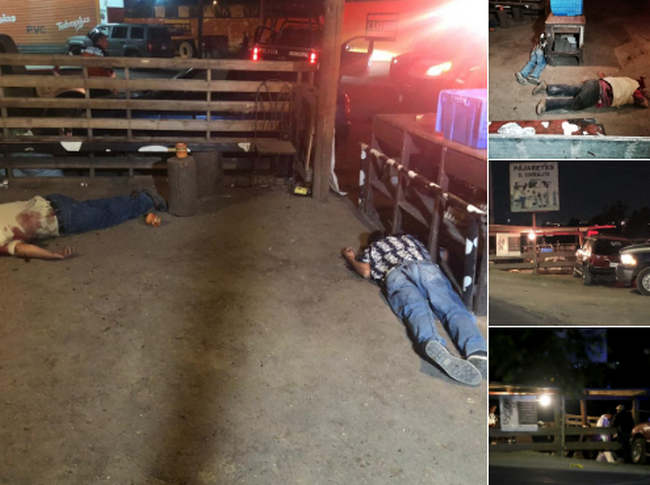 Fotos, así quedaron los 6 ejecutados por comando en Tlajomulco de Zúñiga, Jalisco
