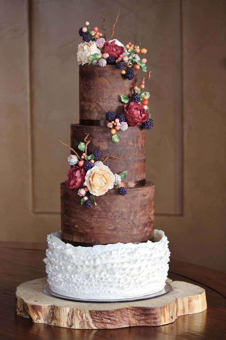 Bbc Good Food Wedding Cake Rich Dark Chocolate