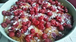 Рецепта за кадаиф с малини