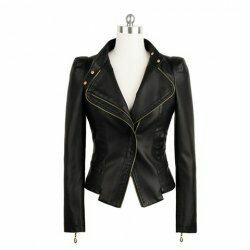 Open-neck-black-jacket-style
