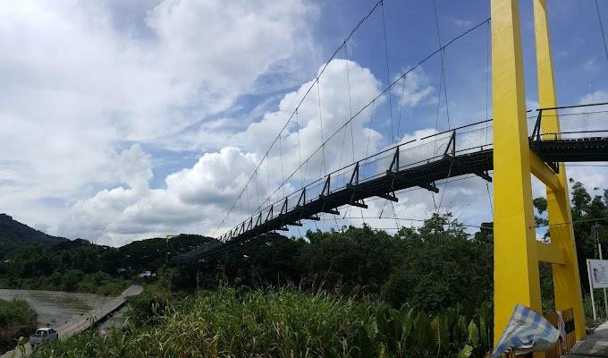 Sumandak Gombak Gayat Di Jambatan Tamparuli, Sabah