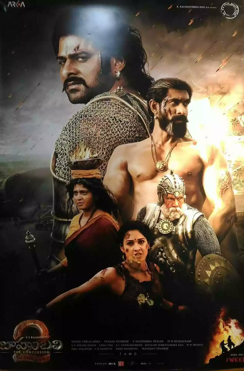 Bahubali 2 (2017) Movie In Hindi Dubbed 720P