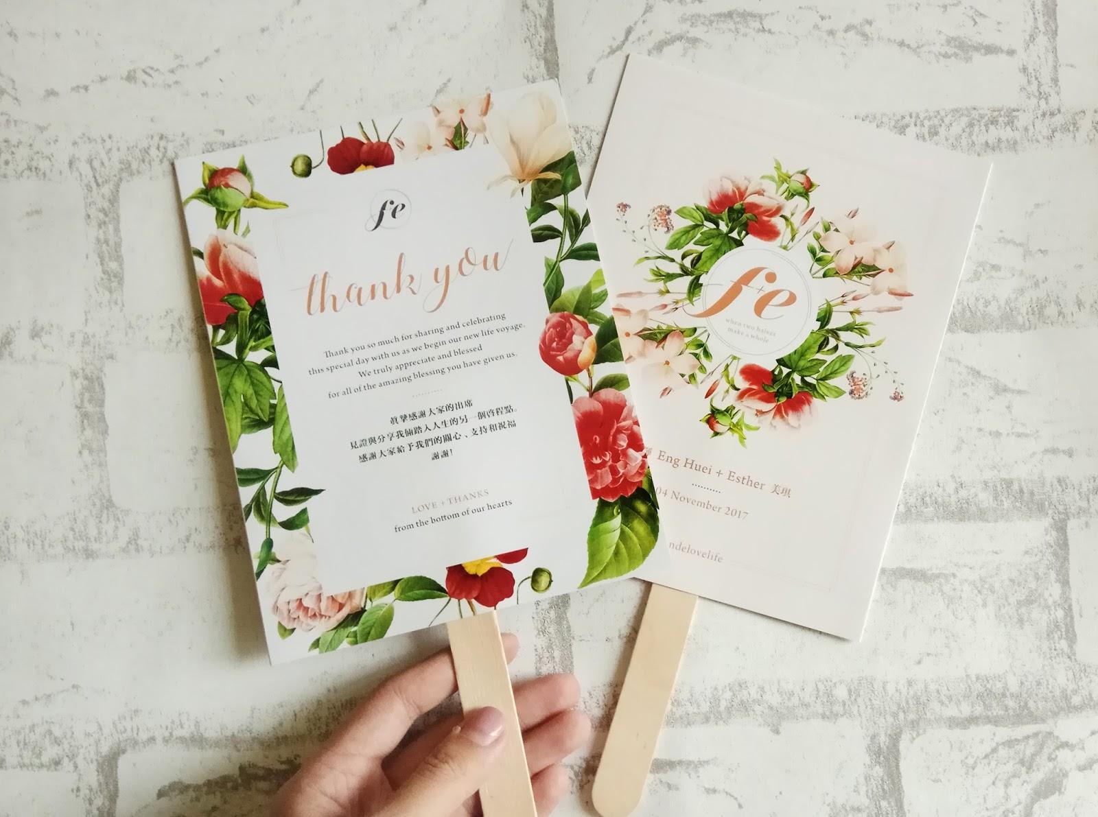 Wedding Card Malaysia | Crafty Farms Handmade : Whimsical Floral ...