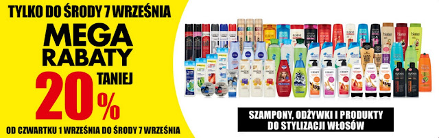 Mega rabaty na kosmetyki do pielęgnacji włosów w Biedronce - 20% taniej