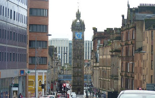 Glasgow Cross, Tolbooth.
