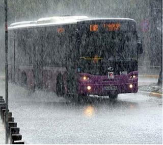 İstanbul'da son yılların en kuvvetli yağmuru