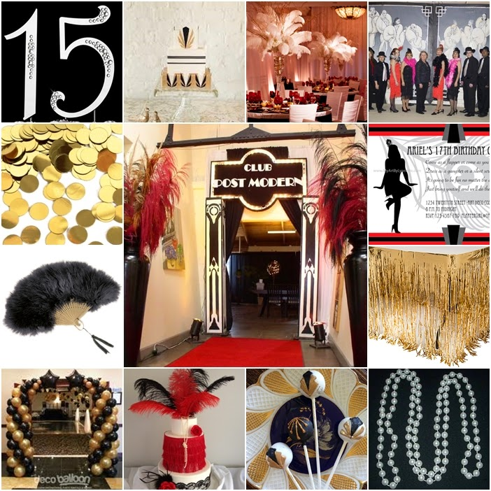 0439966b8b8 The Great Gatsby   Roaring 20s Sweet Fifteen Theme