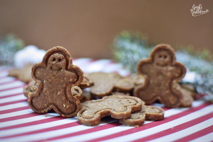 Rezept Lebkuchen Kekse für Hunde
