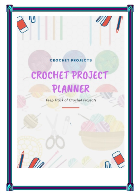 Printable Crochet Project Planner