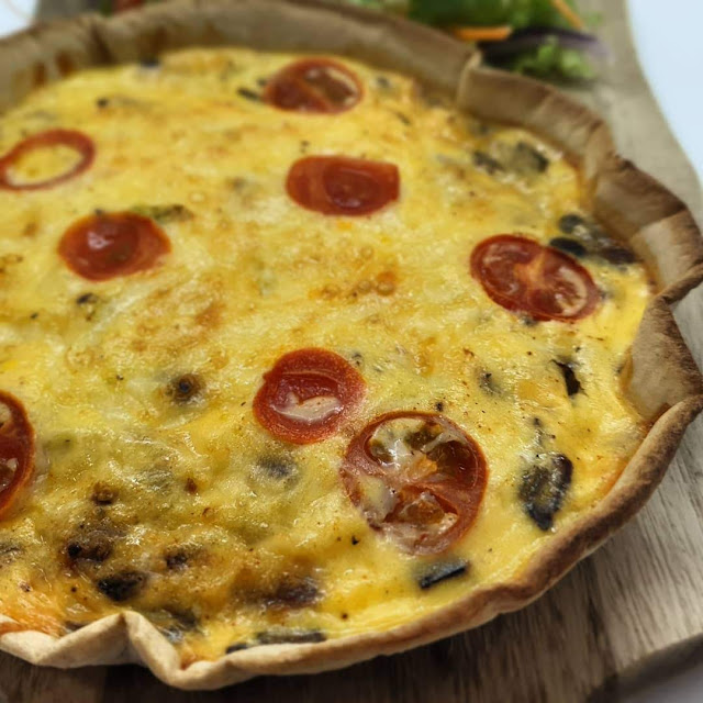 Low Calorie Low Dough Quiche