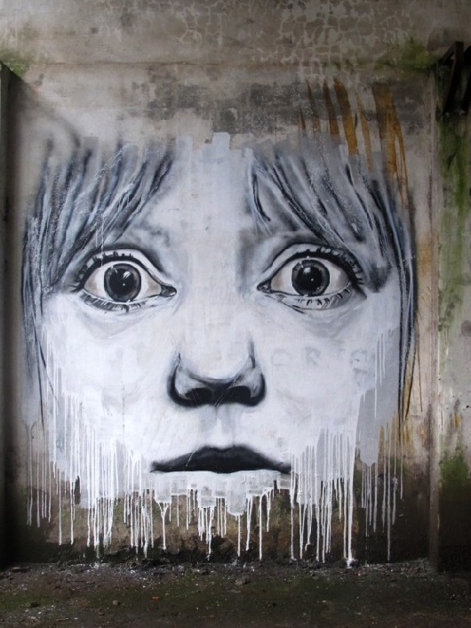street art arte callejero child