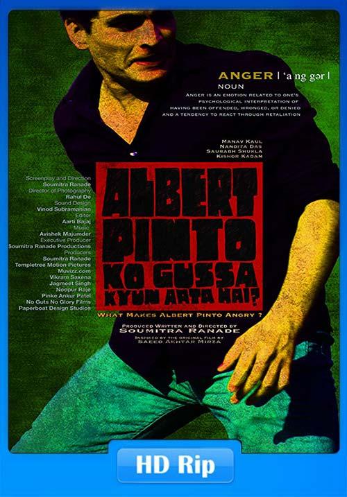 Albert Pinto Ko Gussa Kyun Aata Hai 2019 Hindi 720P HDTVRip x264 | 480p 300MB | 100MB HEVC Poster