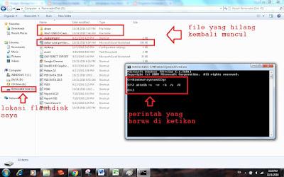 Cara Membersihkan / Menghapus Virus Shortcut Tanpa Antivirus di Windows