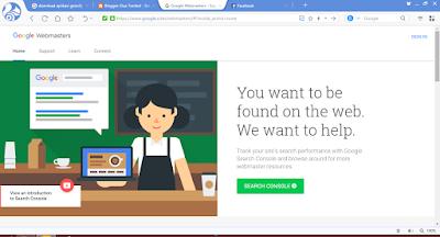 gambar langkah daftar google webmasters tools
